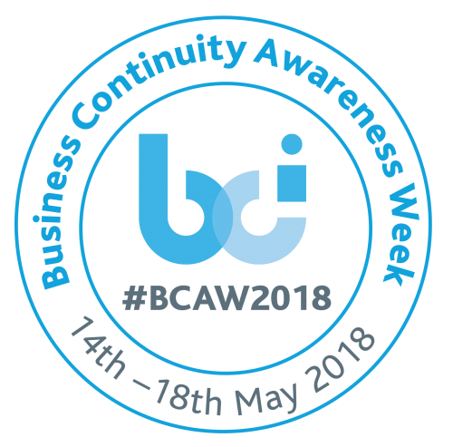 Business Continuity Awareness Week 14 – 18 May 2018